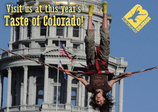 Taste of Colorado, Eurobungy Colorado jumper in Denver